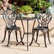 metal patio furniture you u0027ll love wayfair
