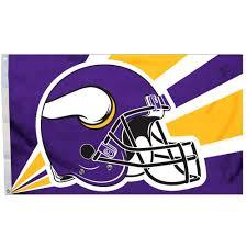 3 X 5 Flags Nfl Minnesota Vikings 3 U0027 X 5 U0027 Flag Walmart Com