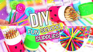 diy supplies diy back to supplies youtube
