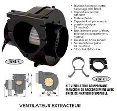extracteur d air pour cuisine ventilateur extracteur d air vent76 24 v vent7624 accastillage