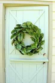 magnolia wreath fixer decor wreath year