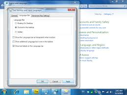 Windows 7 Top Bar How To Type In Thai