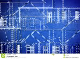 free blueprints for houses blueprints royalty free stock photo image 2644955