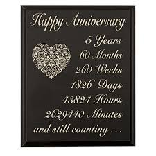 5th wedding anniversary gift best 25 5 year anniversary gift ideas on diy 5th