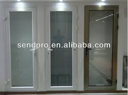 aluminium windows with internal blinds inside double glass with