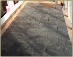 Design For Outdoor Slate Tile Ideas Audacious Black Tile Patio Black Slate Tiles Outdoor Home Design