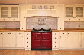 Kitchen Cabinets Cream Color by Kitchen Room Enchanting White Tile Backsplash With Solid Wood
