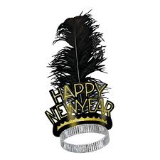 new years party packs party supplies black gold swing tiara qty of 50 wedding