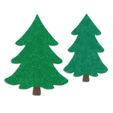 sizzix trees bigz l die