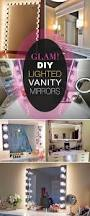 Lighted Makeup Vanity Mirror Best 25 Lighted Vanity Mirror Ideas On Pinterest Mirror Vanity