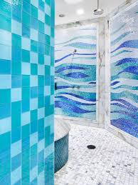 mosaic tiled bathrooms ideas aqua seafoam blue glass mosaic tile bathroom ideas photos houzz