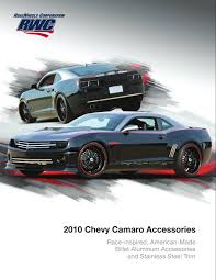 custom camaro accessories realwheels camaro accessories catalog
