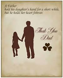 28 cute u0026 short father daughter quotes with images