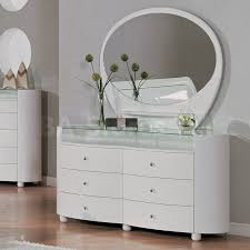 White Gloss Bedroom Mirror Cheap Bedroom Dressers With Mirrors Including Black Mirrored