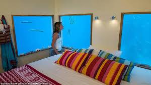 manta underwater room opens 13ft below indian ocean at 1k a night