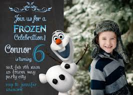 olaf birthday invitations u2013 frenchkitten net