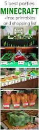 homemade minecraft invitations best 25 minecraft party food ideas on pinterest minecraft food