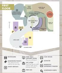 facility floor plan facility layout flint hills discovery center ks