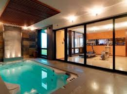 indoor tub and spa area dream home pinterest tubs