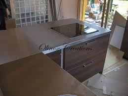 plan de travail cuisine inox sur mesure cuisine professionnelle sur mesure plan de travail en inox pour