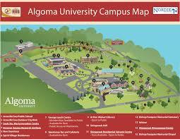 University Of Oregon Campus Map by Algoma University Hub Trail Sault Ste Marie