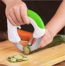 Round Multifunction Kitchen Knife Kitchen Accessories Vegetable
