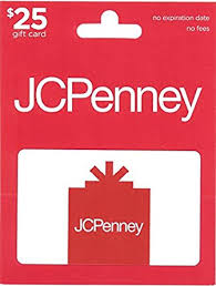 no fee gift cards jcpenney gift card 25 gift cards