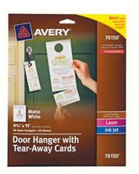 avery half fold textured greeting cards 5 12 x 8 12 white box of