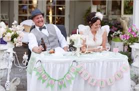 Sitting Pretty Bride Groom Sweetheart Table The Celebration Society