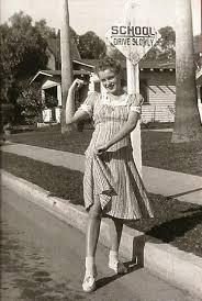 Marilyn Monroe House by Marilyn Monroe Norma Jeane Baker 14 Years Old March 1941 In Front