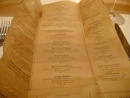 bouchon menu u2013folded paper style universal tables