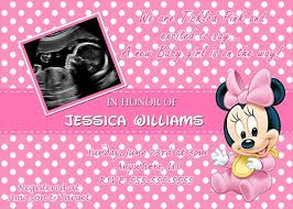 10 minnie mouse baby shower invitations walmart images
