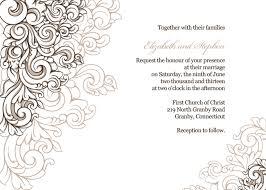 wedding borders free pdf scrolling border wedding invitation template