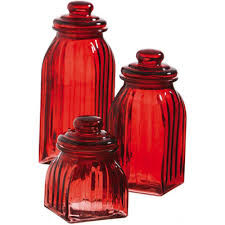 colored glass kitchen canisters cypress glass 3 kitchen canister set reviews wayfair
