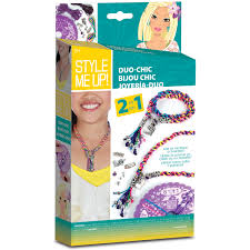 childrens arts and craft kit wooky entertainment duo chic style me