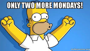 How To Make A Meme With Two Pictures - only two more mondays happy homer make a meme