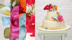 dekoration f r hochzeitstorten torten mit fondant und blüten dekorieren lernen im kurs