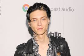 andy biersack with blonde hair andy black s the shadow side through producer john feldmann s eyes