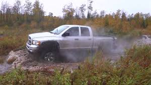 mudding tires 2005 dodge ram hemi 8