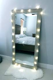 full length lighted wall mirrors full length wall mirror with lights amazing mounted vanity in