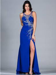 royal blue evening dress sung boutique l a