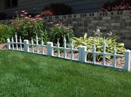 fence small picket fence for garden best white picket fence