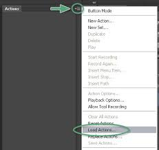 install pattern in photoshop cs6 how to install use photoshop actions brushes
