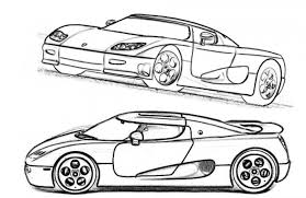 koenigsegg cc8s supercar coloring pages free cars
