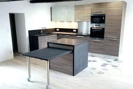 meuble a cuisine table cuisine escamotable meuble de cuisine avec table escamotable
