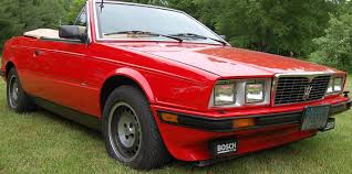 1985 maserati biturbo 5 speed survivor 1987 maserati biturbo spyder