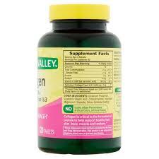 D Collagen valley collagen plus vitamin c tablets 1000 mg 120 ct