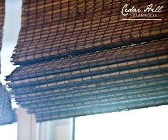 Bamboo Window Blinds Window Blinds Sources And Information Cedar Hill Farmhouse