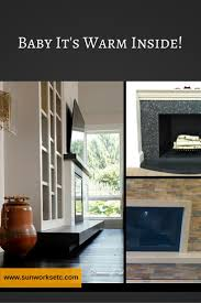 8 best concrete fireplaces images on pinterest warm fireplaces