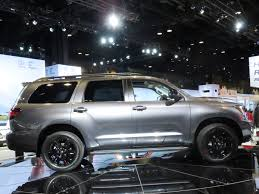 new toyota vehicles 2018 toyota sequoia trd sport revealed kelley blue book